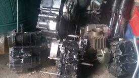 Pit bike engine parts