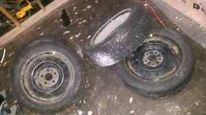 4 tires on rims. 205 55 R16s St. John's Newfoundland image 6