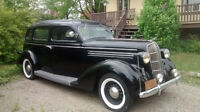 1936 Dodge brothers D2 Touring Sedan 7 passagers