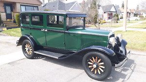 Rare 1928 Plymouth - 637th Canadian Built