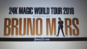 Bruno Mars & Cardi B Saturday show Toronto $125.00