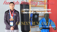 Personal Trainer for Freestyle Wrestling and Mixed Martial Arts