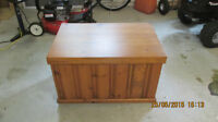 Homemade Wooden Wood Box (used)