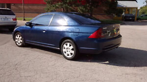2002 Honda Civic Coupe  LX (2 Doors )