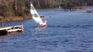 13 Foot Flying Junior Sailboat