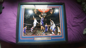 Chris paul 16x20 signed picture