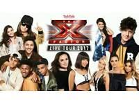 X factor live tour tickets