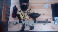tippman Sierra one tactical edition paintgun with accessories