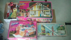 Collection Barbie jouets anciens