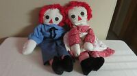 Raggedy Ann & Andy Homemade Dolls Collectibles