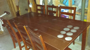 Large Kitchen Table.