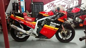 SUZUKI GSXR 750 1985 COMME NEUF!! PERFECT CONDITION!!!