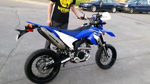 Moto yamaha WR250X 2008 super motard