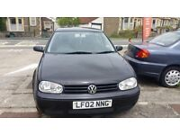 VW Golf GTi Diamond black, new Cam Belt, 12 months MOT £900