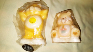 Vintage Care Bears candles