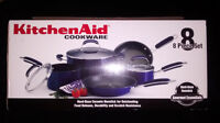 Kitchenaid 8-Piece GE Non-Stick Blue Cookware Ottawa Ottawa / Gatineau Area Preview