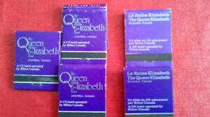Matchbook Covers-The Queen Elizabeth Hotel, Montreal Kitchener / Waterloo Kitchener Area image 2