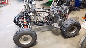 Parting out Polaris Outlaw IRS