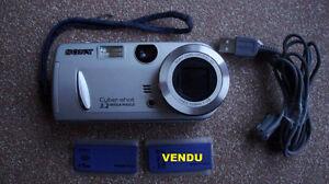 2 caméras, Samsung AF-333 35mm et Sony DSC-P52 (numérique)