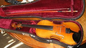 czech 1/4 size 40yr old strato violin g/c cond