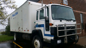 1995 Volvo FE cabover