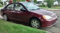2002 Honda Civic 4 Door Auto