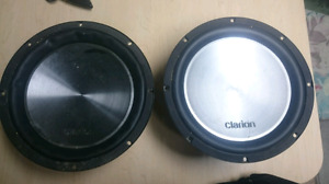 "Two 12""Subwoofer's for sale for $100"