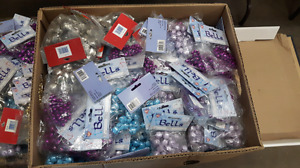 PACKAGES OF BELLS PURPLE BLUE OR SILVER