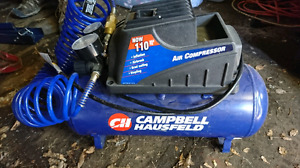 Air compressor with nailer