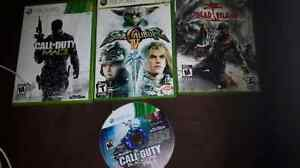 Xbox 360 games and lots of PS3 games
