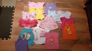 Baby girl summer clothes lot