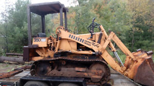Case 350 and 450 Track Loaders