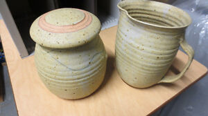 Jar/container with lid and pitcher set Windsor Region Ontario image 1