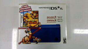 Nintendo DSI XL with Carry Case and Games