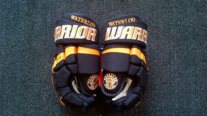 Brand New Warrior Waterloo Wolves Gloves