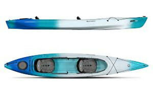 Perception Cove 14.5 Tandem Kayak (with sliding bow seat)