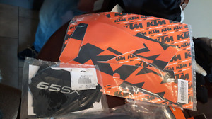 KTM Plastics and Stickers