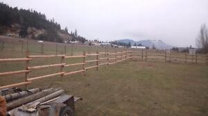 fencing rails