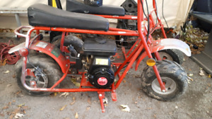Baja 30Db with extra parts frame and a New 212cc engine