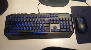 CM Storm Devastator LED Gaming Keyboard and Mouse