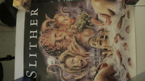 Slither Collector's Edition Scream Factory Exclusive Poster