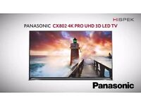 "Panasonic 55"" 4K ultra HD 3D smart firefox LED Tv warranty free delivery"