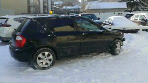 Kia Spectra5 Frontend Damage for  Parts
