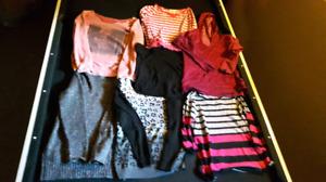 7 shirts size small
