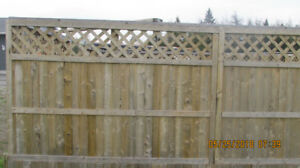 Wood Fencing For Sale