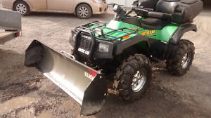 Artic Cat 500 with plow and passenger seat (SOLD)