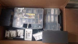 Radio/satellite/computer repair items