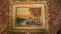 **MUST GO!!** Set of vintage ANDRE FRANCHET oil paintings
