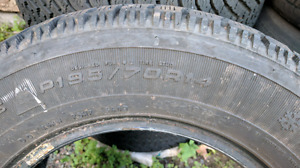 Set of P195/70R14 Tires