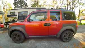 2004 Honda Element EX Manual